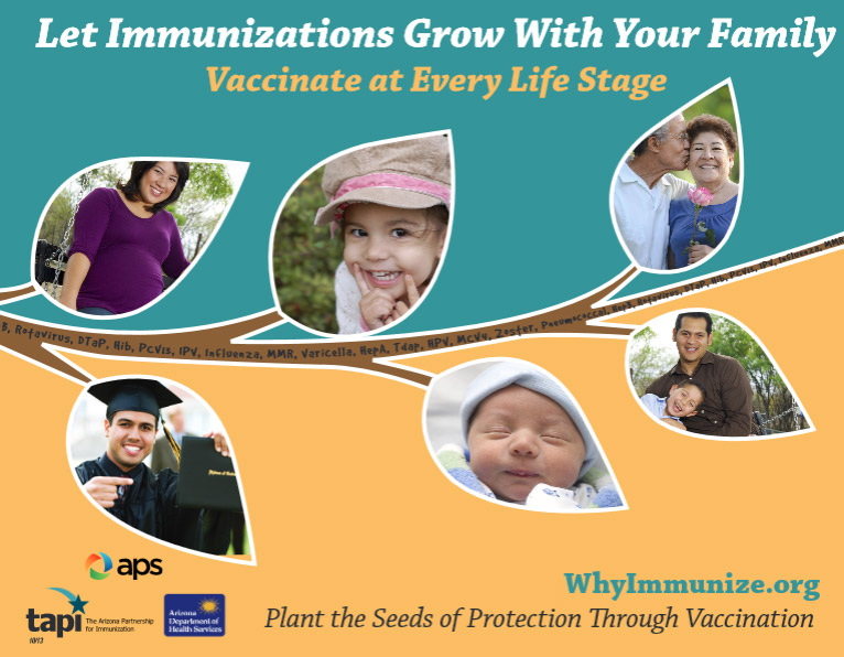 Lifetime Immunization Flyer
