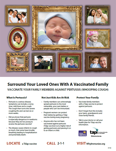 Pertussis flyer
