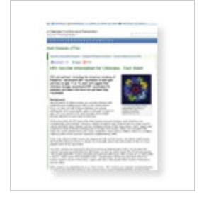 HPV clinical fact sheet