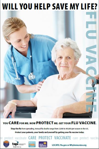 HCW Flu Flyer